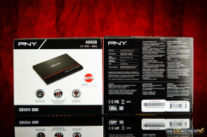 PNY CS1311 SSD Packaging