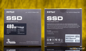 Zotac Premium Edition SSD 480GB Packaging
