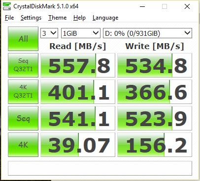 Samsung 850 EVO 3D V-NAND V1 CDM