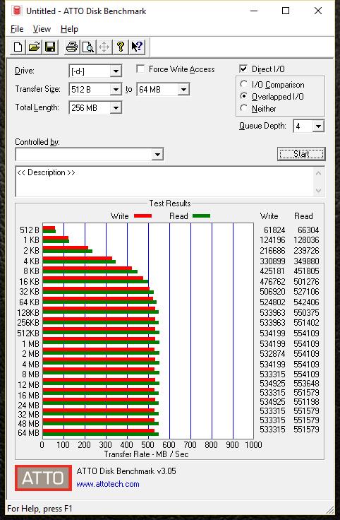 Samsung 850 EVO 3D V-NAND V3 atto