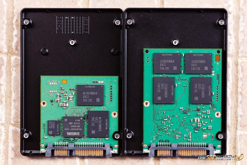 Samsung 850 EVO V1 vs V2