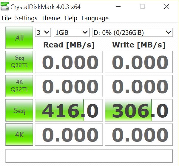 Patriot Magnum2 256GB Flash Drive CDM 2
