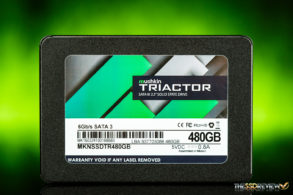 Mushkin Triactor SSD Front