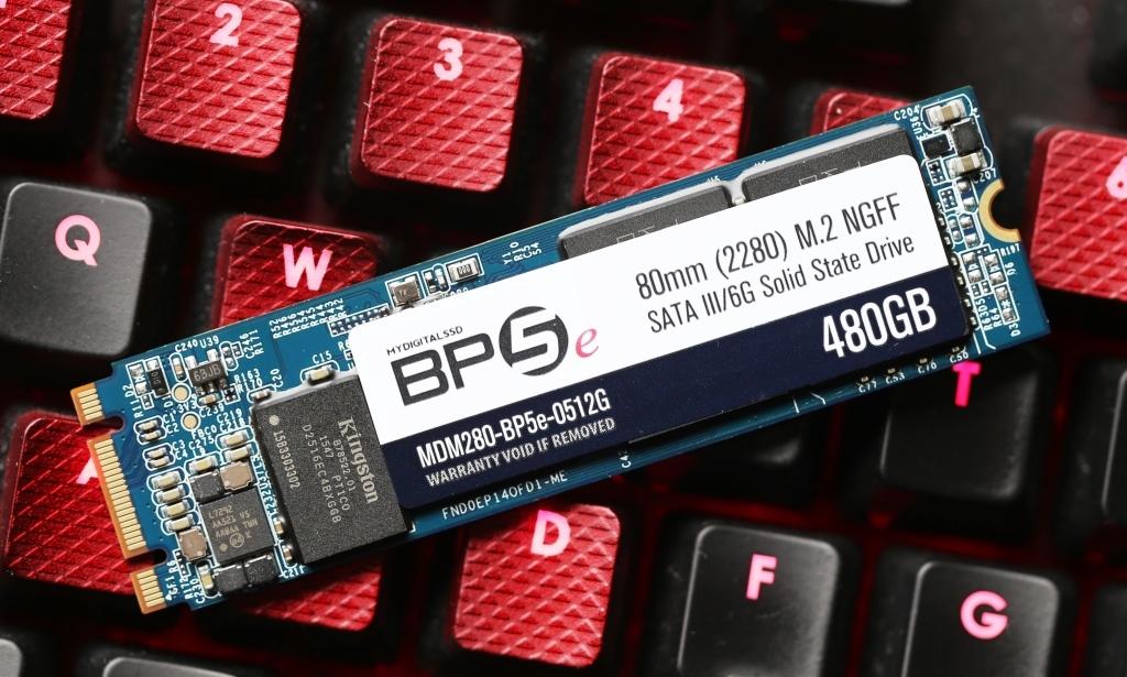 MyDigitalSSD BP5e 480GB M2 SATA 3 SSD Featured Picture