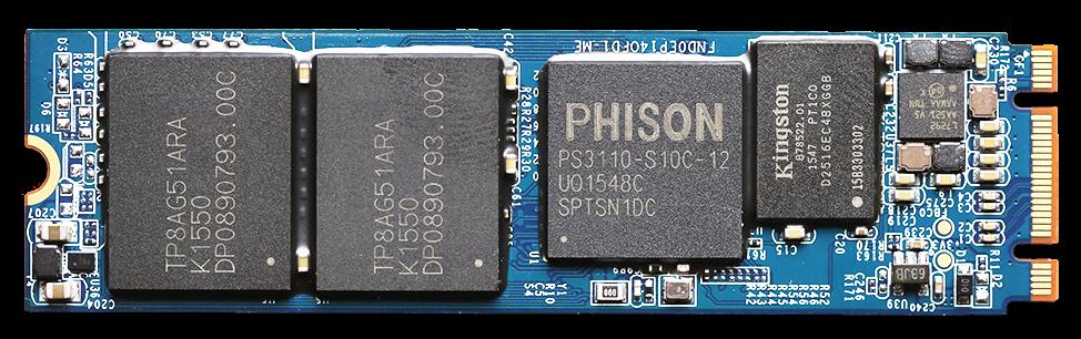 MyDigitalSSD BP5e 480GB M2 SATA 3 SSD PCB Front