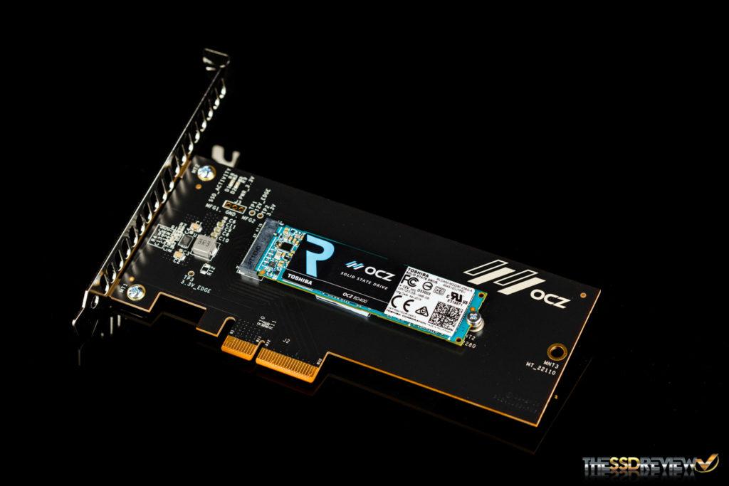 OCZ RD400 SSD Angle