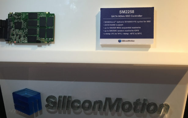 SM2258 is World's First Turnkey Merchant 6Gbs SSD Controller Solution Supporting 3D TLC NAND