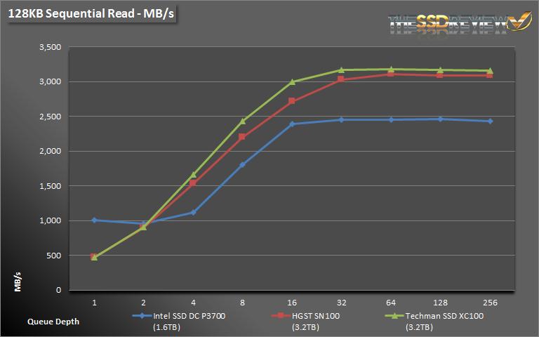 Techman SSD XC100 3.2TB Seq Read