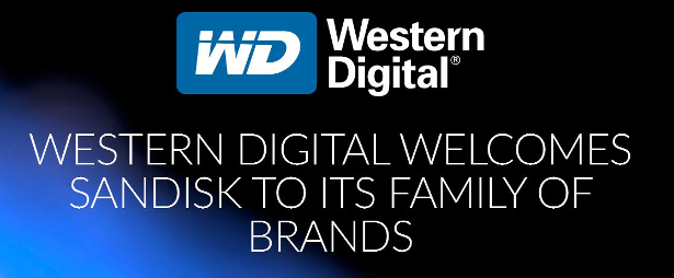 WD welcomes SanDisk