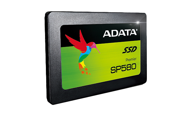 ADATA SP580 angled front view