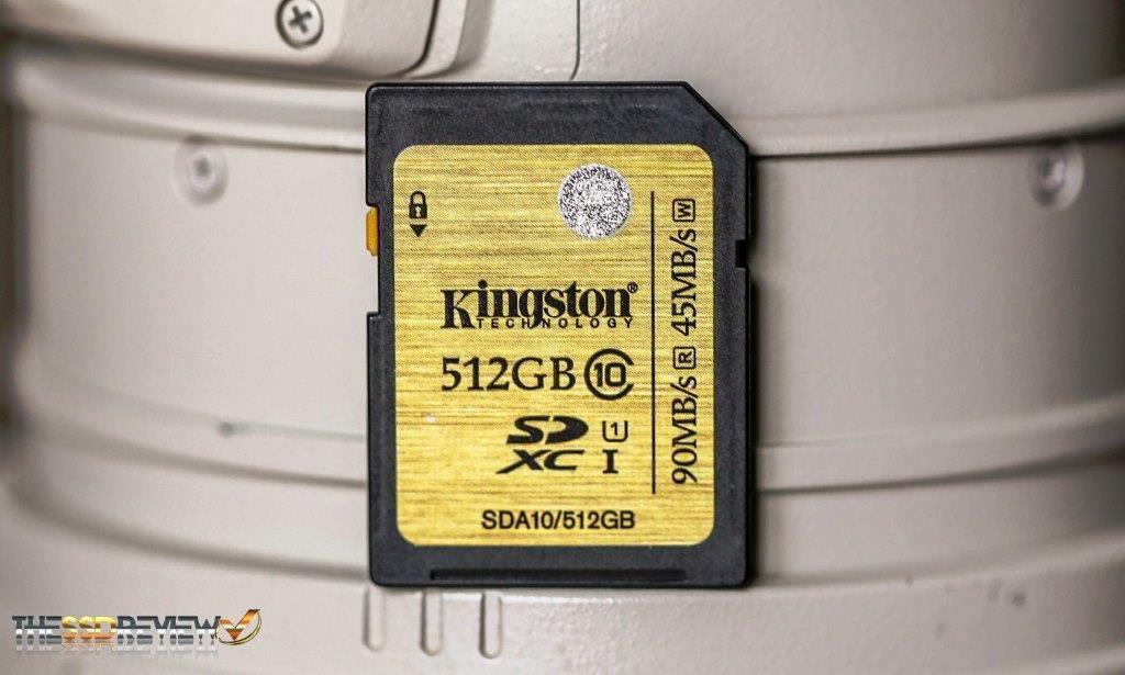 Kingston 512GB SDXC Card