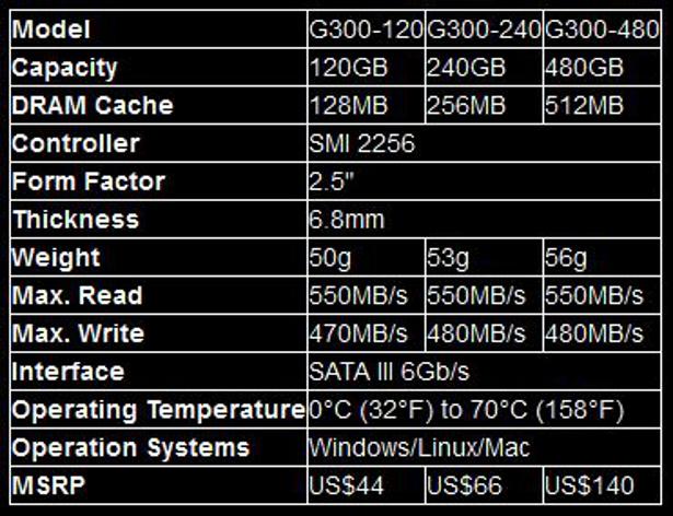 BIOSTAR G300 specs 2