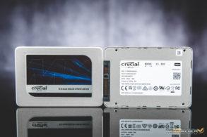 Crucial MX300 1050GB RAID 0 Front Back