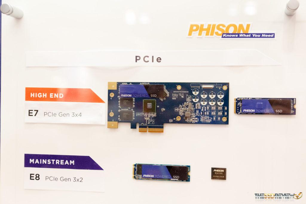 Phison Booth FMS 2016 E8 controller
