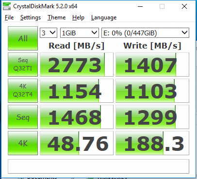 480GB Patriot Hellfire CDM