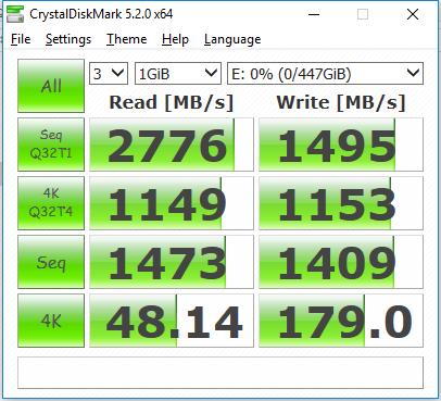 CORSAIR MP500 SSD 480GB CDM