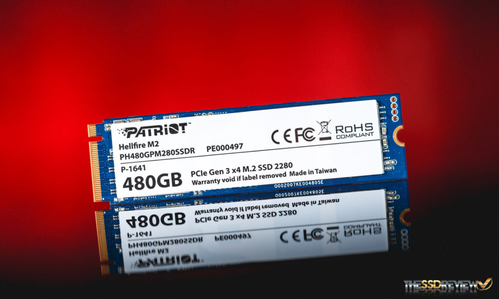 Patriot Hellfire 480GB SSD Main