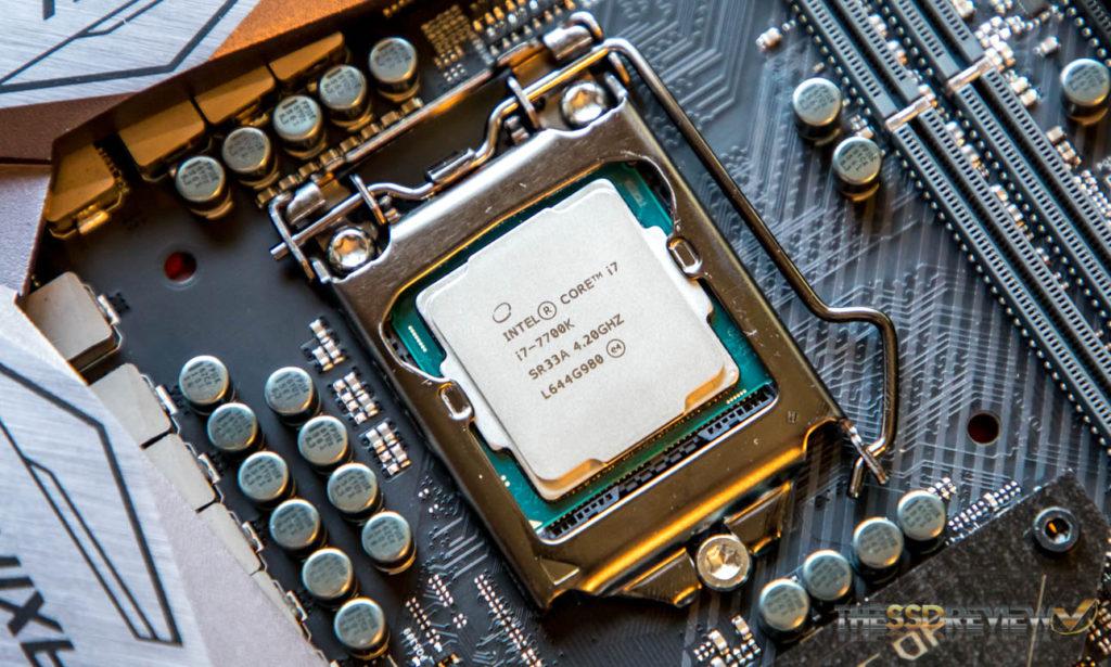 Intel I7-770K CPU Kaby Lake