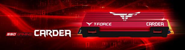 TeamForce Cardea Mdot2 SSD banner