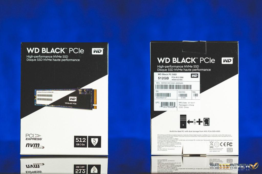 WD Black PCIe SSD Package