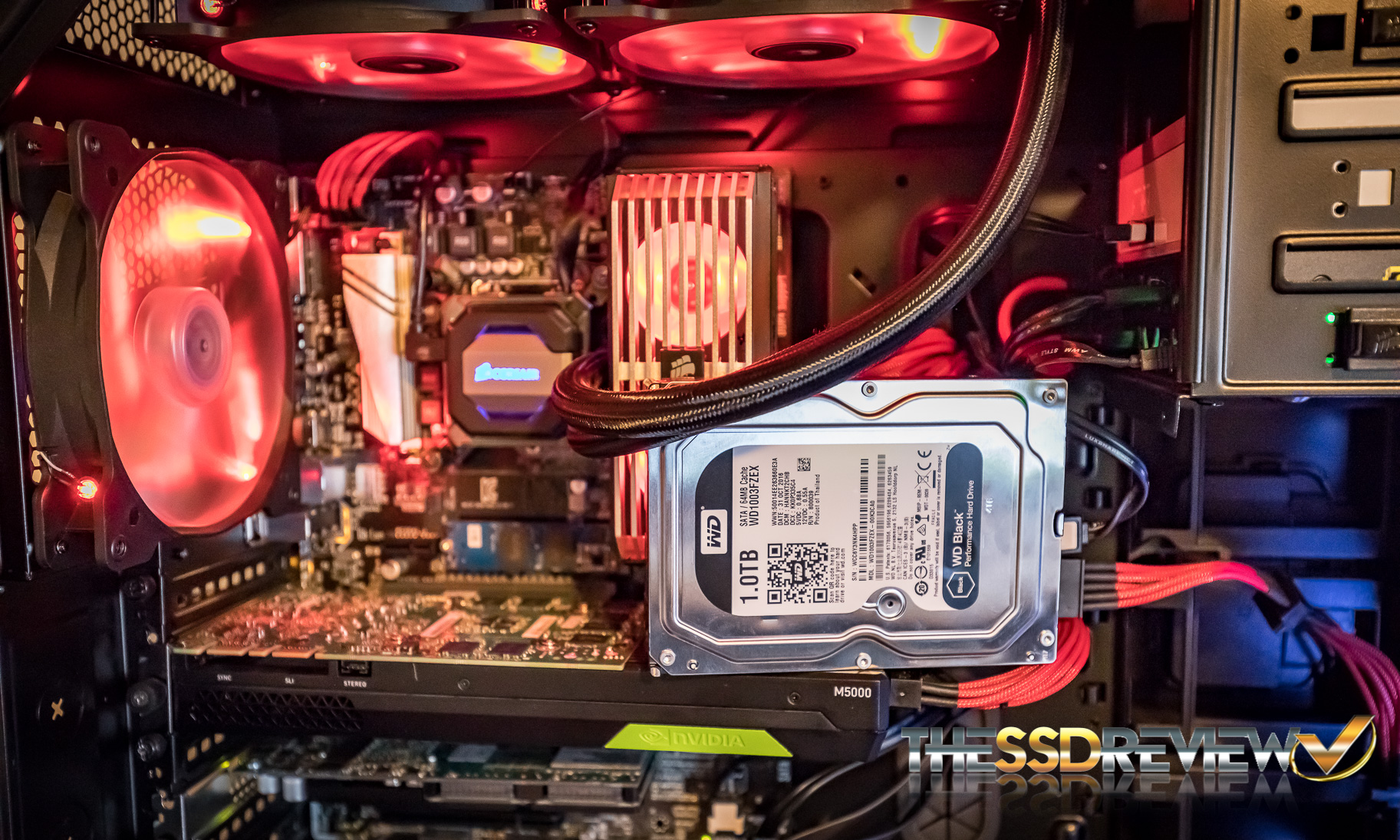 Intel test Bench with WD Black HDD