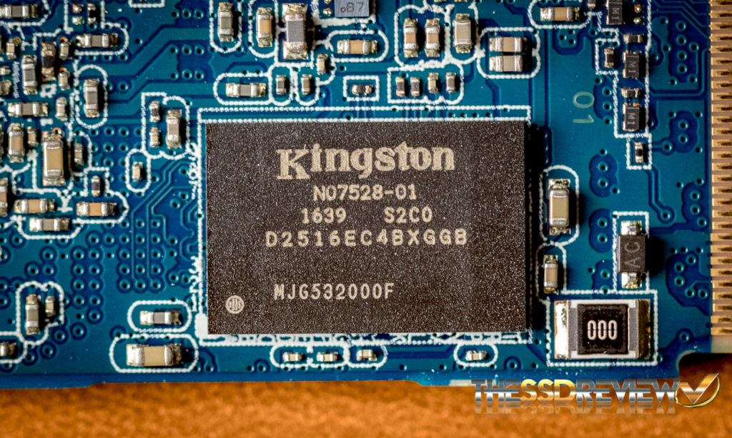 Kingston DCP1000 NVMe SSD with Kingston DRAM Cache chip