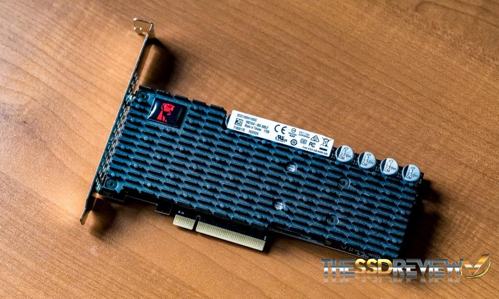 Kingston DCP1000 NVMe SSD Front