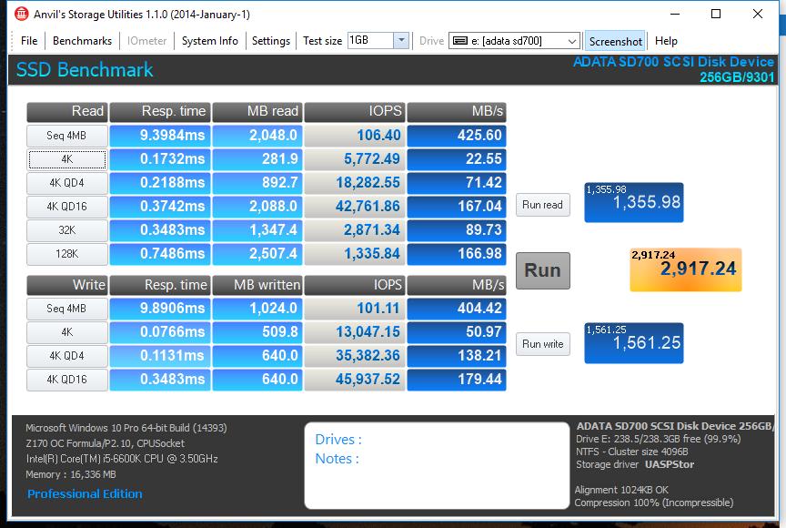 Adata SD700 Benchmarks 3