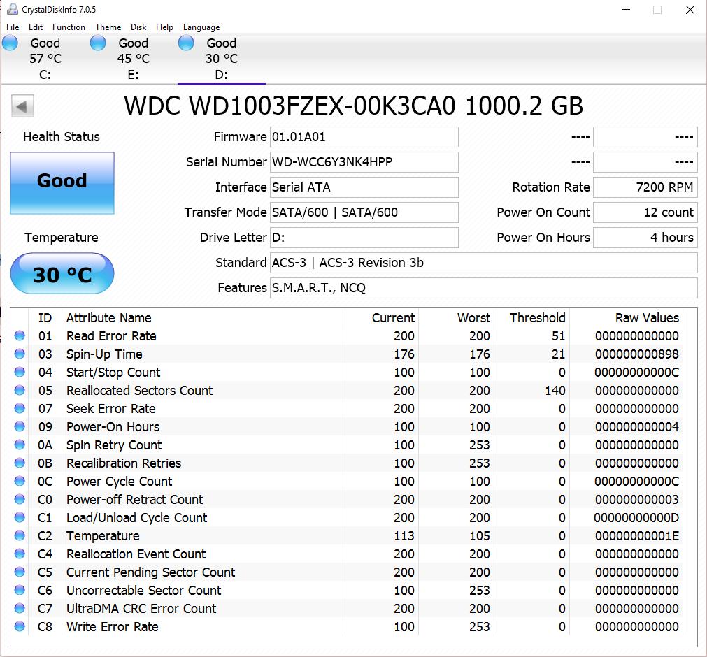 WD Black 1TB HDD CDI