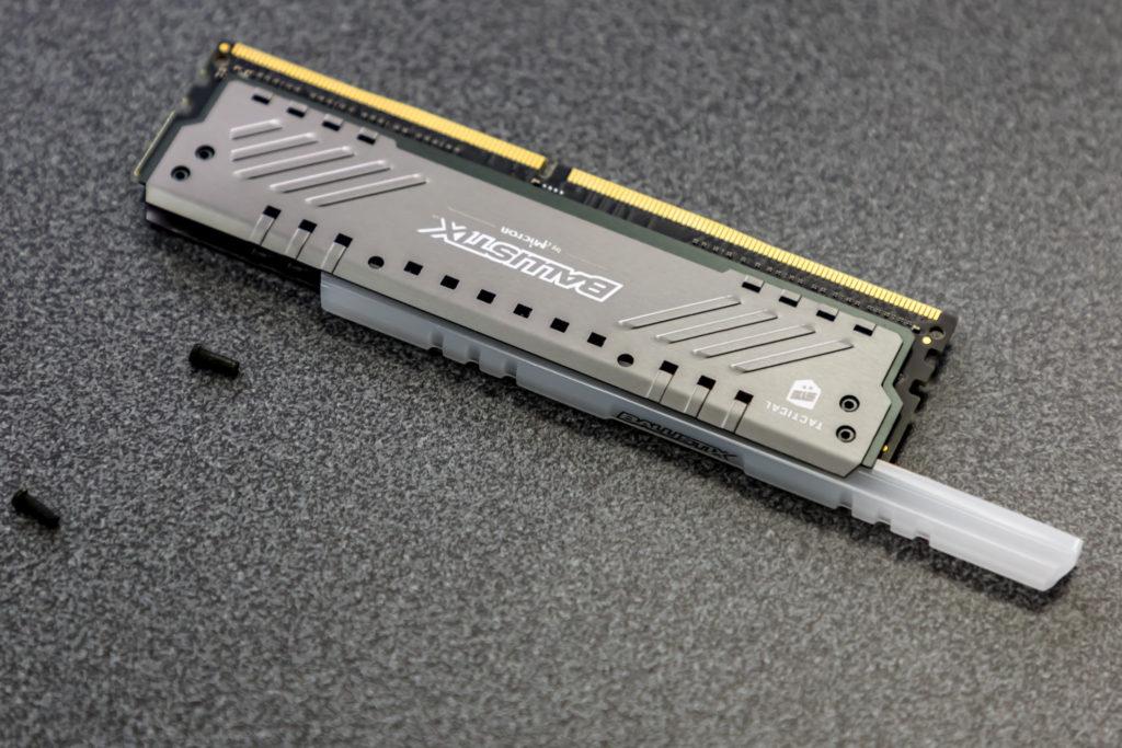 Ballistix Tactical Tracer DDR4 memory