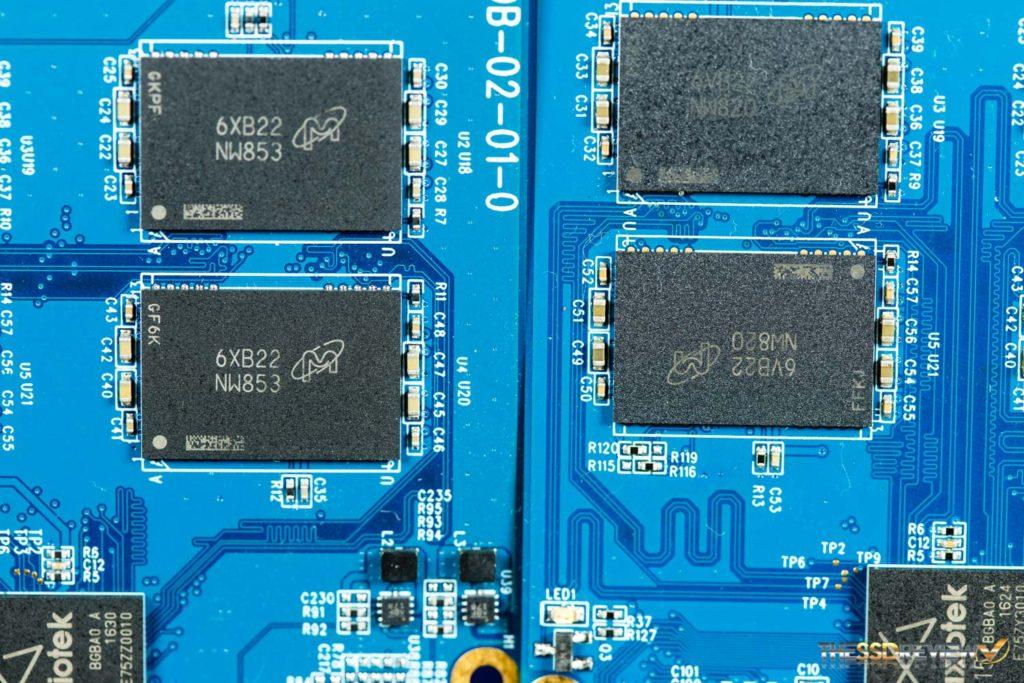 Maxiotek MK8115 Controller ES NAND