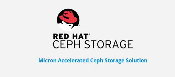 Micron RedHat Ceph Storage header