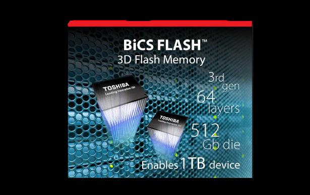Toshiba XG5 Bics flash