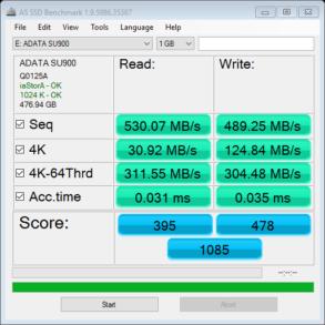 ADATA SU900 AS SSD