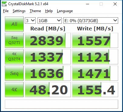 Corsair NX500 400GB CDM