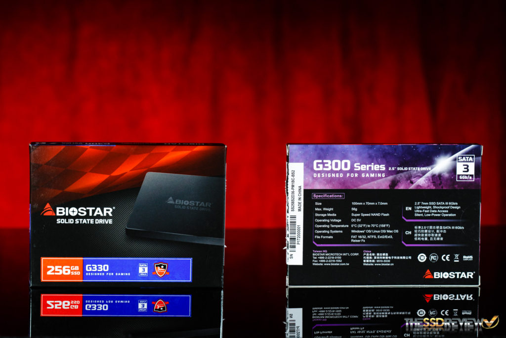 Biostar G330 SSD 256GB PACKAGE
