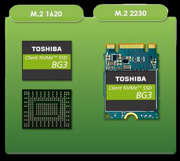 Toshiba BG3 form factors