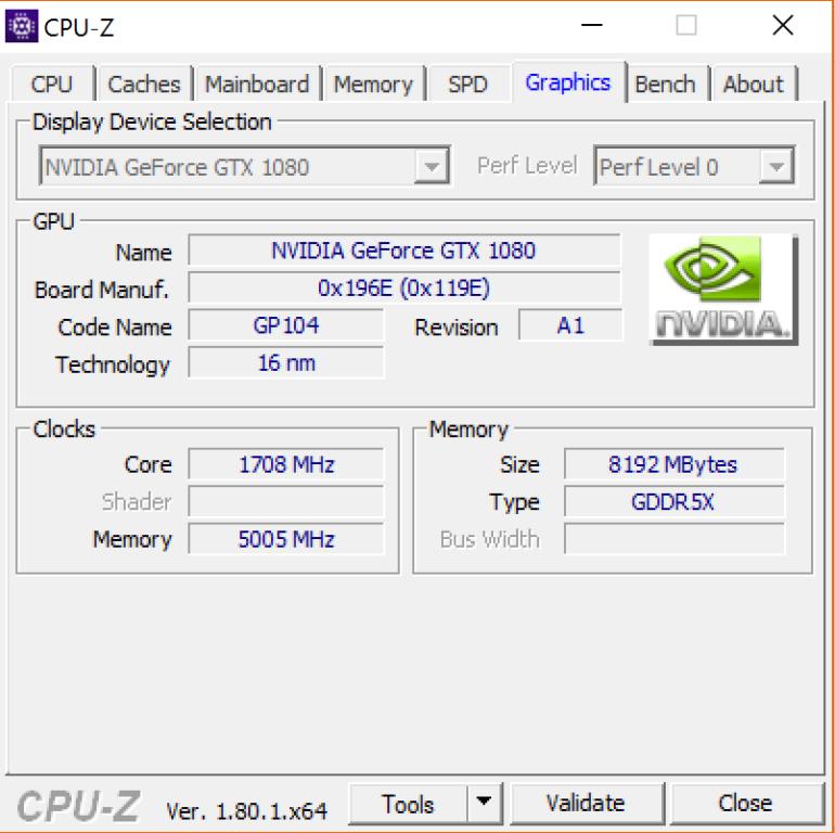 i9-7900X Gfx Card
