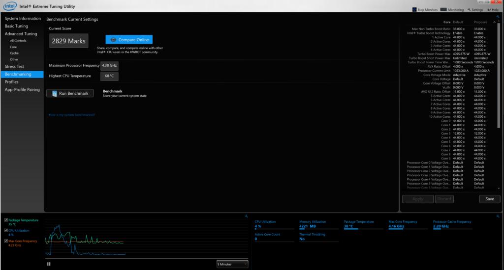 Intel Extreme Tuning