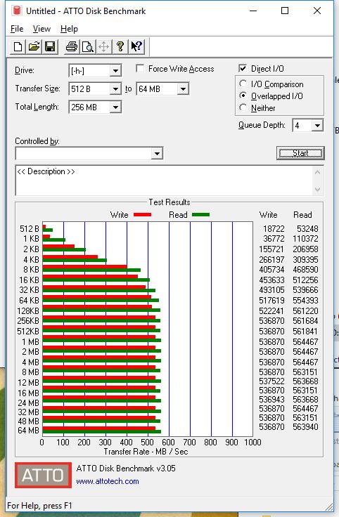 1TB SanDisk Ultra 3D ATTO