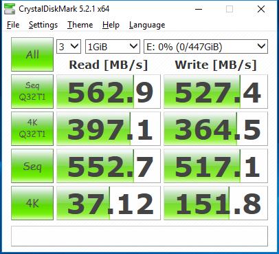 480GB Crucial BX300 CDM