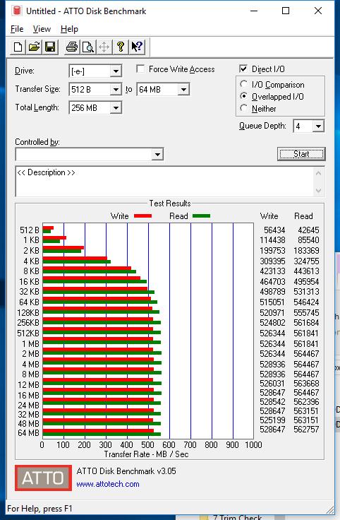 480GB Crucial BX300 atto