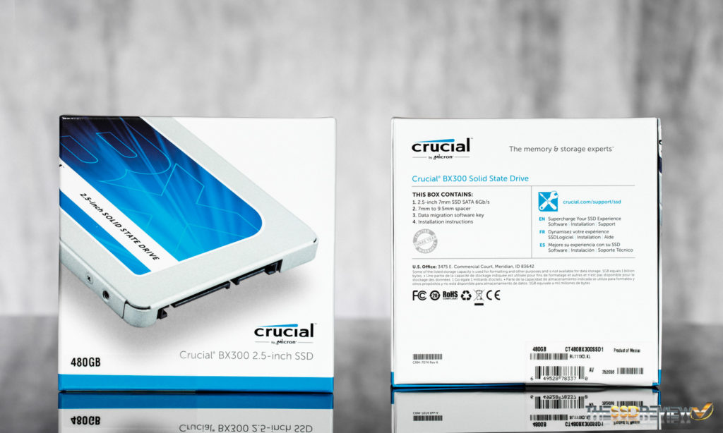 Crucial BX300 Packaging