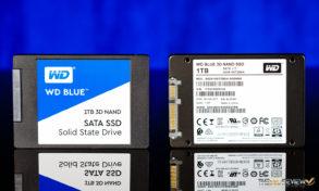 WD Blue 3D SSD Exterior